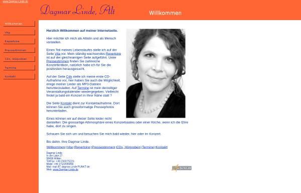 Vorschau von www.dagmar-linde.de, Linde, Dagmar