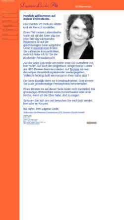 Vorschau der mobilen Webseite www.dagmar-linde.de, Linde, Dagmar