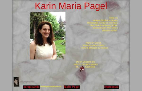 Vorschau von www.karinmariapagel.de, Pagel, Karin Maria