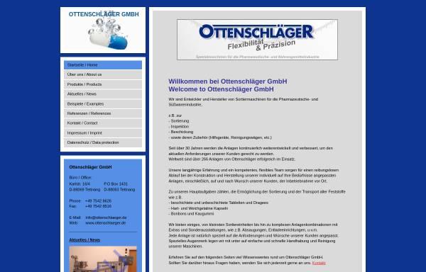 Vorschau von www.ottenschlaeger.de, Ottenschläger GmbH