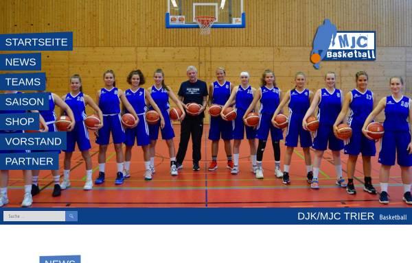 Vorschau von www.mjc-basketball.de, DJK / MJC Basketball Trier