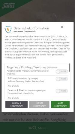Vorschau der mobilen Webseite www.duopharm.de, Duopharm GmbH