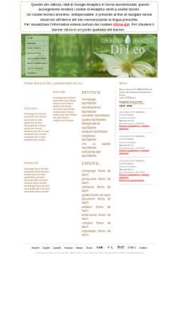 Vorschau der mobilen Webseite www.bach-flowers.it, Maurizio Di Leo