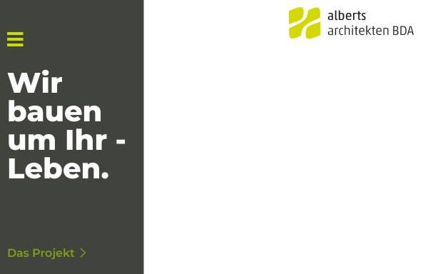 Vorschau von www.alberts-architekten.de, Alberts Architekten