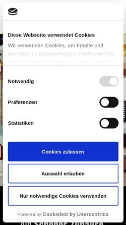 Vorschau der mobilen Webseite www.wiedey.net, Bodenbeläge R. Wiedey GmbH & Co. KG