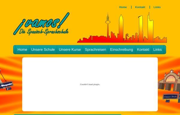 Vorschau von www.vamos-sprachschule.de, Academia vamos