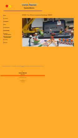 Vorschau der mobilen Webseite www.curso-bueno.de, Spanisch in Heilbronn