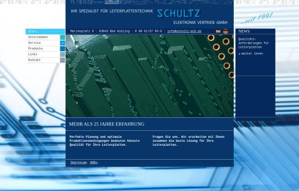 Schultz Leiterplatten Vertriebs GmbH: Leiterplatten ...