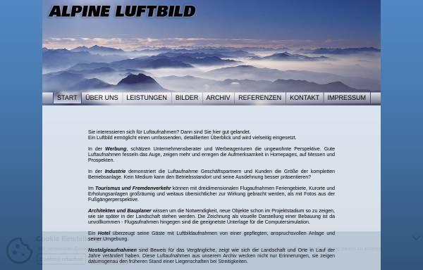 Vorschau von www.alpine-luftbild.at, Alpine Luftbild, Innsbruck