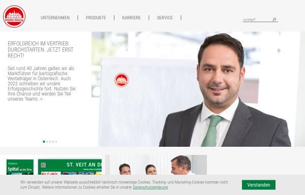Vorschau von www.staedte-verlag.at, Städte-Verlag - Stadtpläne und Freizeitkarten online.