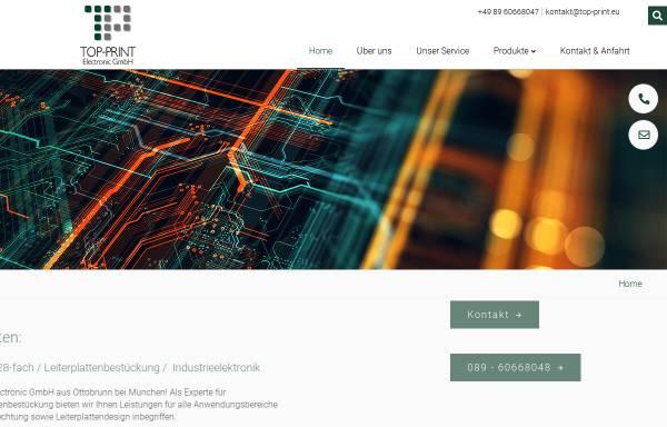 Top-Print Electronic GmbH in Ottobrunn: Leiterplatten ...