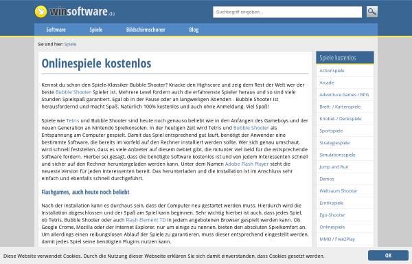 Vorschau von www.arcadestar.de, Arcadestar.de