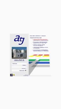 Vorschau der mobilen Webseite www.at-j.de, Anlagentechnik Klaus Jaeger