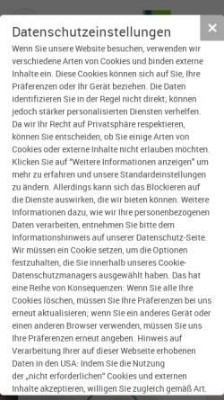 Vorschau der mobilen Webseite www.aws-gw.de, AWS Abwassersysteme GmbH