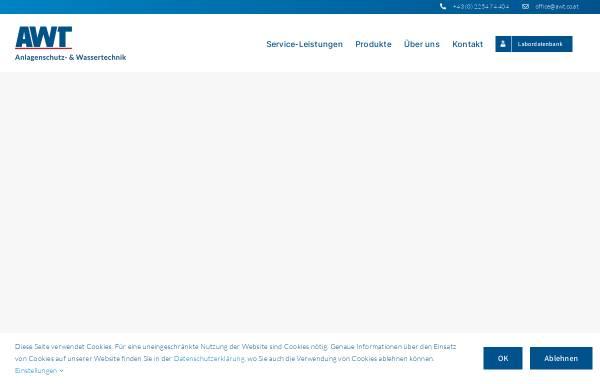 Vorschau von www.awt.co.at, AWT-Anlagenschutz und Wassertechnik Ges.m.b.H.