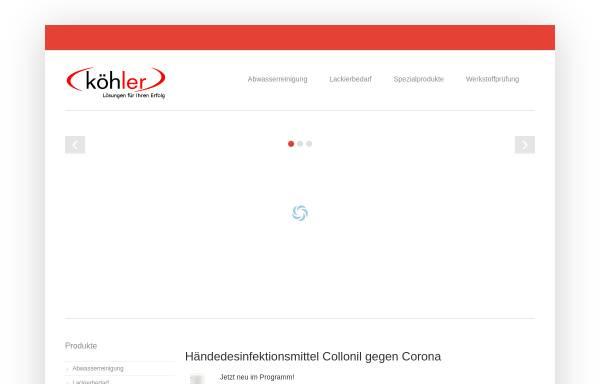 Vorschau von www.technologie-systeme.de, Köhler Technologie Systeme GmbH & Co. KG, Inh. Klaus Köhler