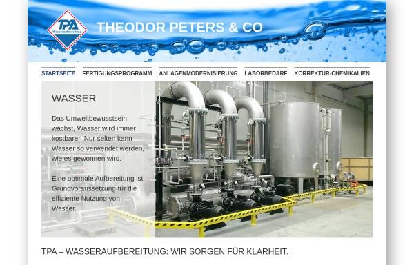 Vorschau von www.tpa.de, TPA Theodor Peters & Co.