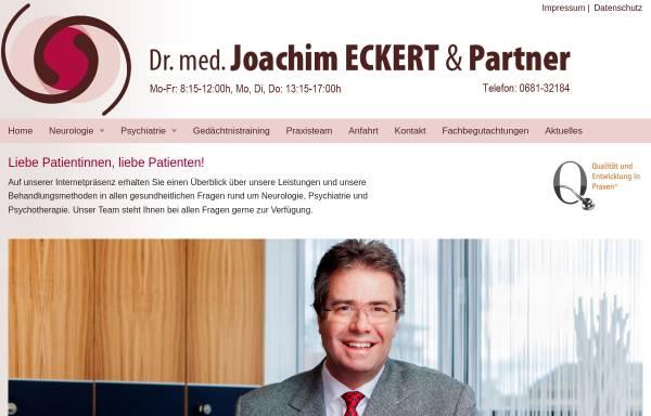 Vorschau von www.eckert-saarbruecken.de, Eckert, Dr. med. Joachim