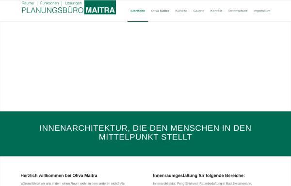 Vorschau von www.oliva-maitra.de, Oliva Maitra