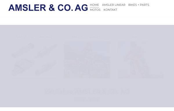 Vorschau von www.kymco.ch, Amsler & CO. AG/Kymco Schweiz