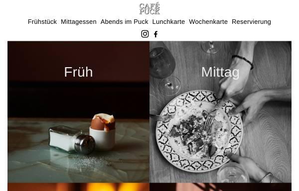Vorschau von www.cafepuck.de, Cafe Puck