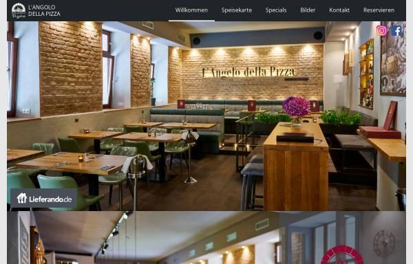Vorschau von www.langolo-della-pizza.de, L'Angolo della Pizza