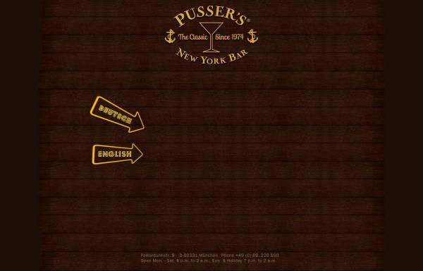 Vorschau von www.pussersbar.de, Pussers New York Bar