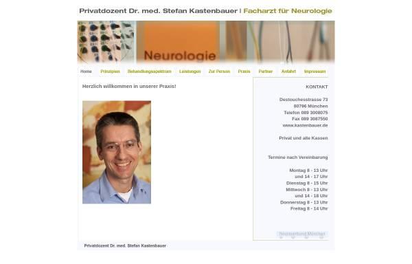 Vorschau von www.kastenbauer.de, Kastenbauer, Dr. med. Stefan