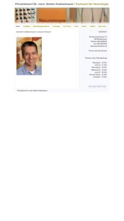 Vorschau der mobilen Webseite www.kastenbauer.de, Kastenbauer, Dr. med. Stefan