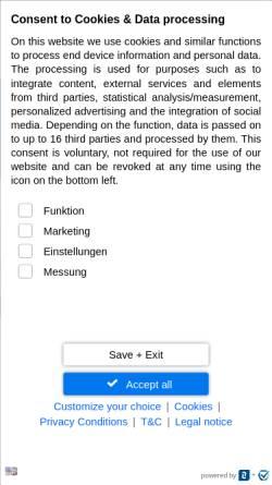 Vorschau der mobilen Webseite www.wasser-kaufen.de, WASSER kaufen