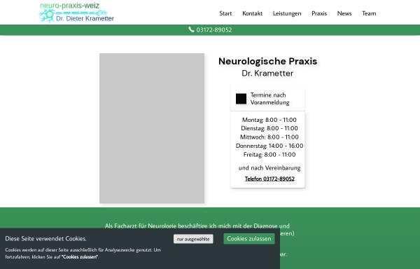 Vorschau von www.krametter.at, Krametter, Dr. Dieter