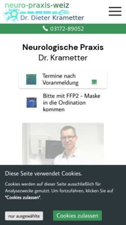 Vorschau der mobilen Webseite www.krametter.at, Krametter, Dr. Dieter