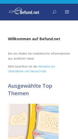 Vorschau der mobilen Webseite www.neuro24.de, Mayer, Karl. C.