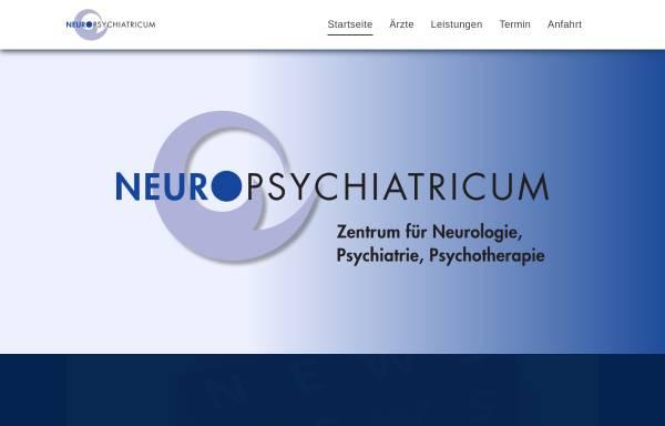 Vorschau von www.neuropsychiatricum.de, Neuropsychiatricum