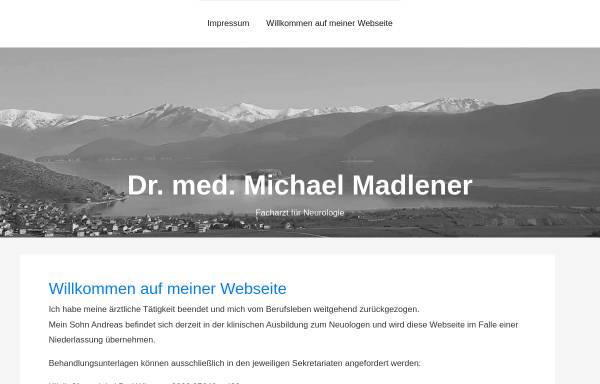 Vorschau von dr-madlener.de, Praxisgemeinschaft Dres. Madlener
