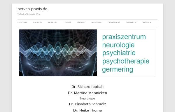Vorschau von www.neurologie-psychiatrie-praxis.de, Praxiszentrum Neurologie, Psychiatrie und Psychotherapie