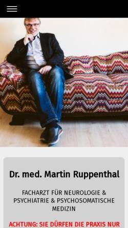 Vorschau der mobilen Webseite www.martin-ruppenthal.de, Ruppenthal, Martin
