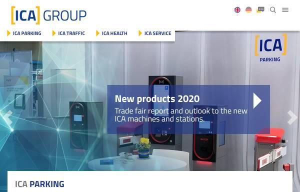 Vorschau von www.ica.de, ICA Traffic GmbH