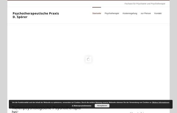 Vorschau von www.spoerer-praxis.de, Spoerer, Dieter