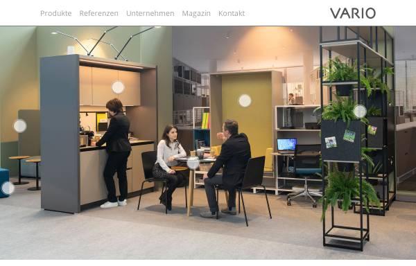 Vorschau von www.vario.de, VARIO GmbH - Medienagentur und Graphischer Betrieb