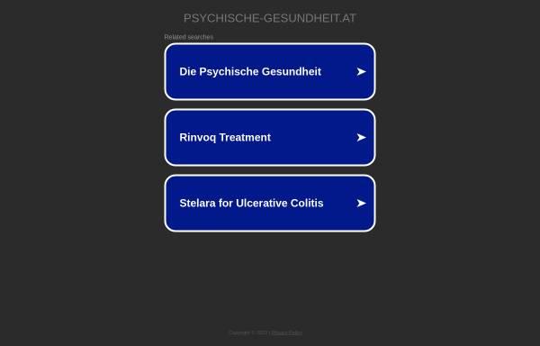 Vorschau von www.psychische-gesundheit.at, Wölfl, Dr. med univ. Harald