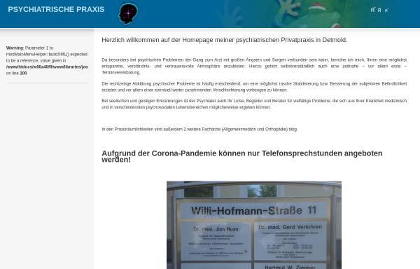 Vorschau von www.psychiatrie-praxis-detmold.de, Zimmer, Hartmut W.