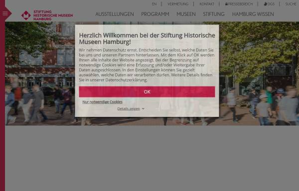 Vorschau von www.altonaermuseum.de, Altonaer Museum