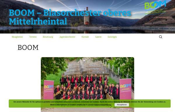 Vorschau von www.mv-niederheimbach.de, Blasorchester der Vereine Musikverein