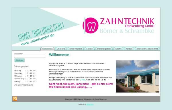 Vorschau von www.zahnhandel.de, Dental Labor Udo Gerschler