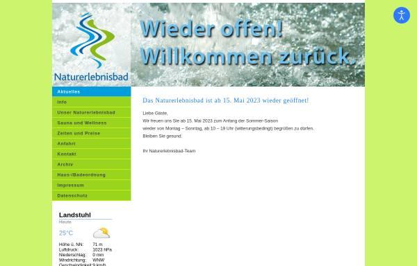 Vorschau von www.neb-landstuhl.de, Naturerlebnisbad Landstuhl
