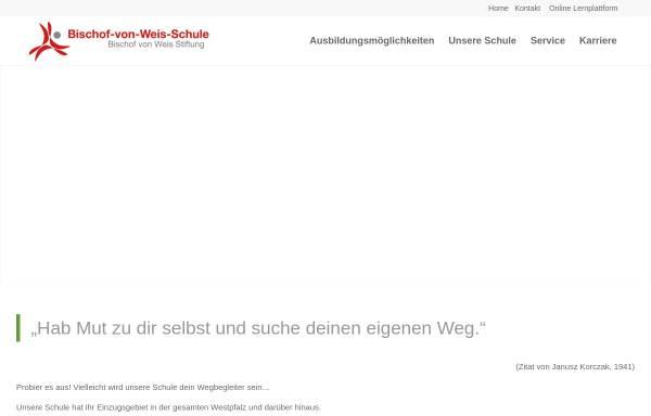 Vorschau von www.nvw-landstuhl.de, Nikolaus-von-Weis-Schule