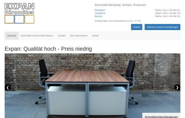 Vorschau von www.bmoebel.de, Expan Büromöbel GmbH