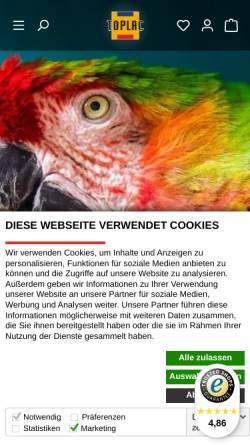 Vorschau der mobilen Webseite www.toplac.de, Toplac Autolackierbedarf GmbH