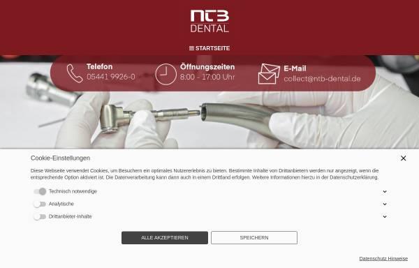 Vorschau von www.ntb-dental.de, NTB Dental GmbH